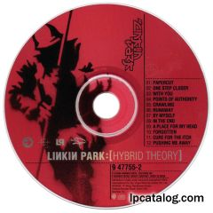 Hybrid Theory (Special Edition, India, 9 48267-2)