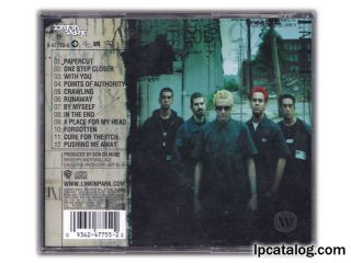 Hybrid Theory (United States, Gold Stamped Promo)