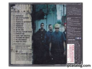 Hybrid Theory (Japan, Promo for WPCR-10877)