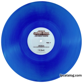 Collision Course (United States, 541578-1, Transparent Blue, RSD Reissue)