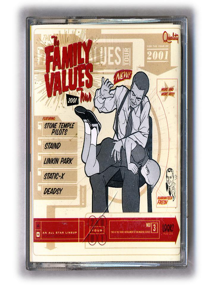 Family Values Cover Family Values Tour 2001