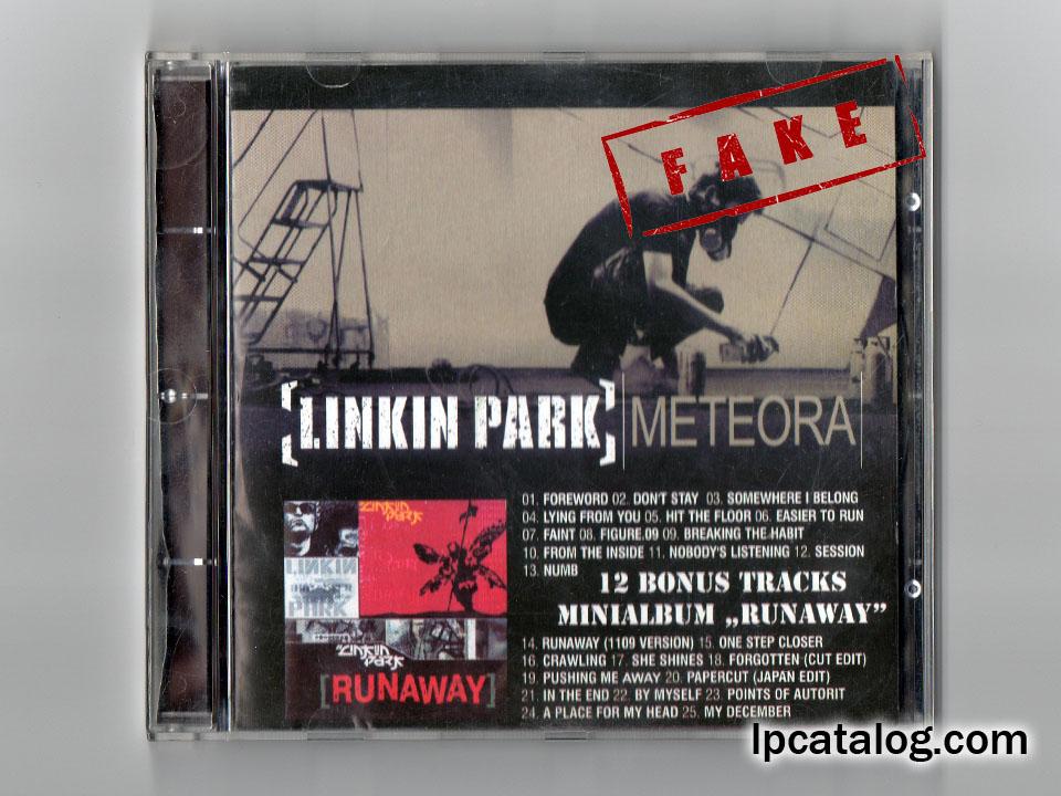 LPCatalog - Unofficial / Album / Meteora + Minialbum Runaway