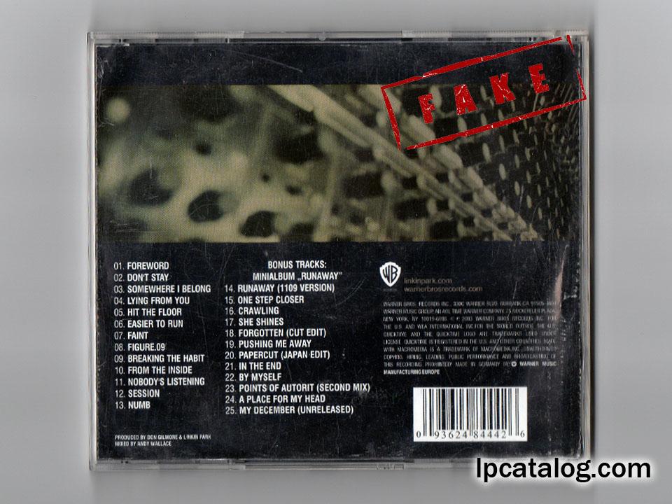 Linkin Park Albums List
