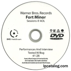AOL Sessions Performances & Interview Texted W/ Bug, DVD-R