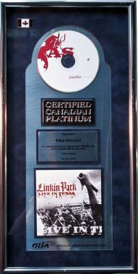 Lot #05: Live In Texas Canadian Plaque