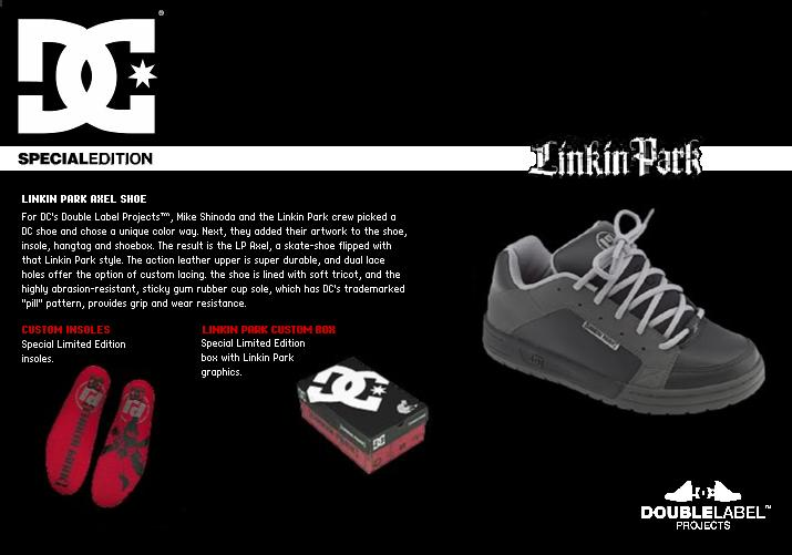 DC Shoes X Linkin Park - AXEL - Double Label Project