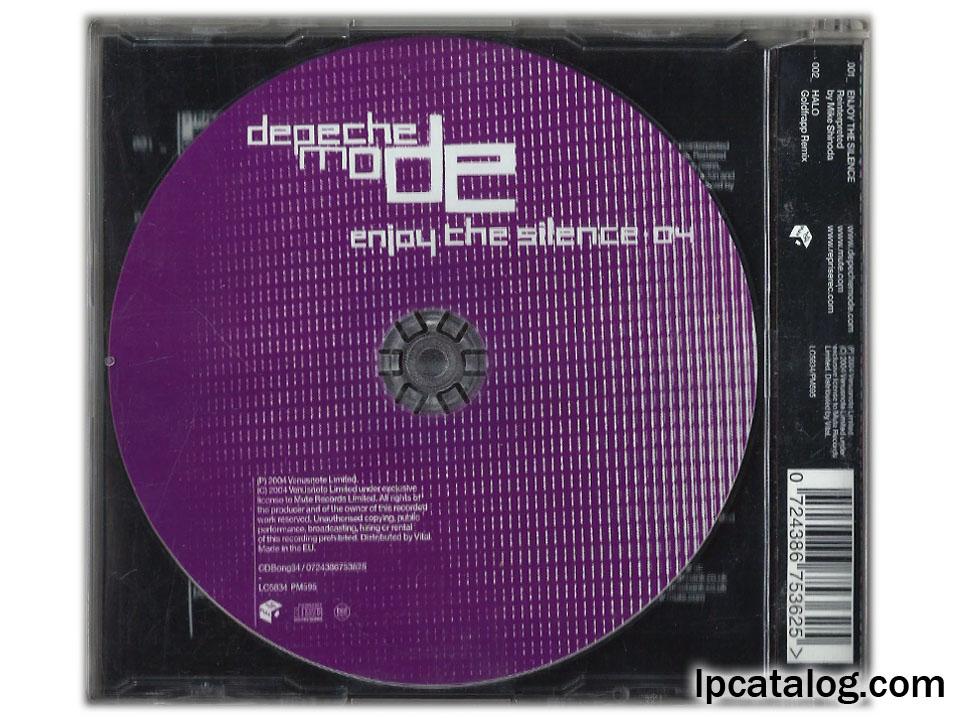 Lpcatalog Depeche Mode Enjoy The Silence 04 Cd