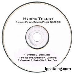 Hybrid Theory (United States, 7 Track Demo CD)