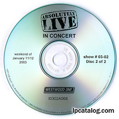 Absolutely Live In Concert, show #03-02