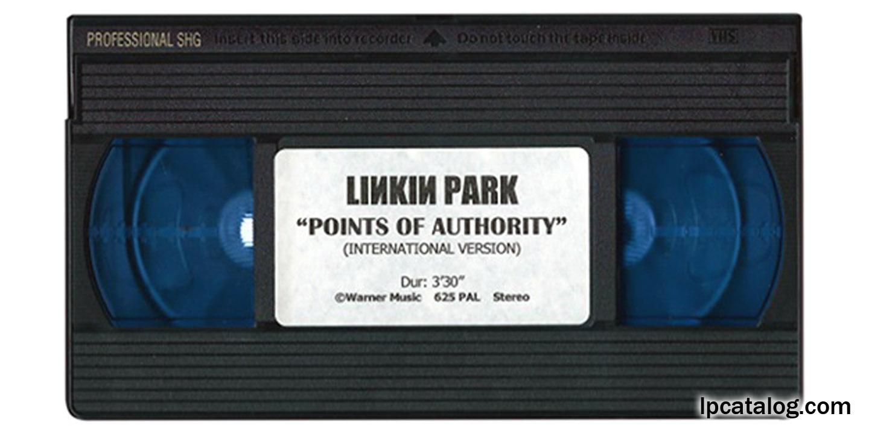 Lpcatalog 2001 Hybrid Theory Misc Promo Points Of