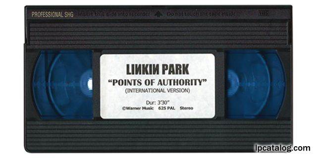 Points Of Authority (United Kingdom, VHS)