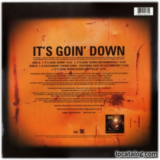 It's Goin' Down (88561-9133-1, Vinyl, 12, USA)