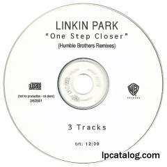 One Step Closer (United States, CD-R, Humble Brothers Remixes)