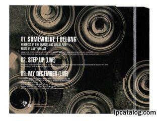 Somewhere I Belong (W602CD, Germany)