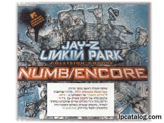 Numb/Encore (Israel, Promo Only Sticker)