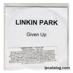 Given Up (United Kingdom, CD-R)