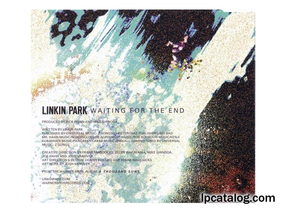 Reanimation Linkin Park Vinyl Lpcatalog 2002 Reanimation