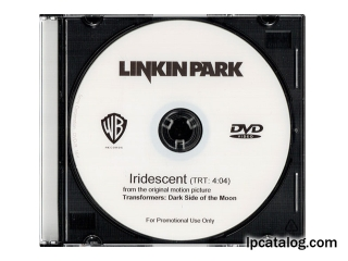 Iridescent (United States, DVD-R)