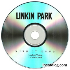 Burn It Down (United States, CD-R)