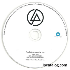 Final Masquerade (Benelux, CD-R)